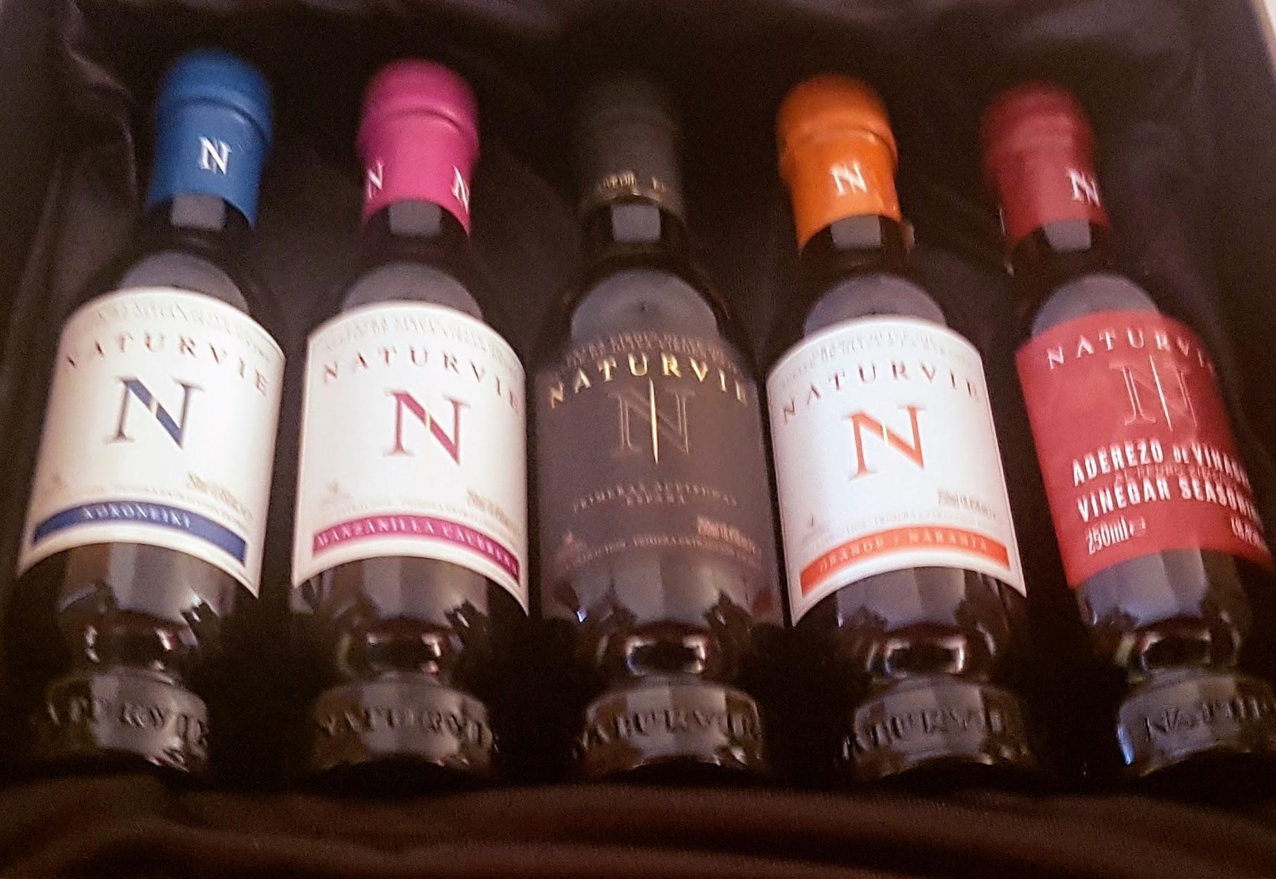 Gama de variedades de aceite de NATURVIE, ideal para disfrutar y regalar