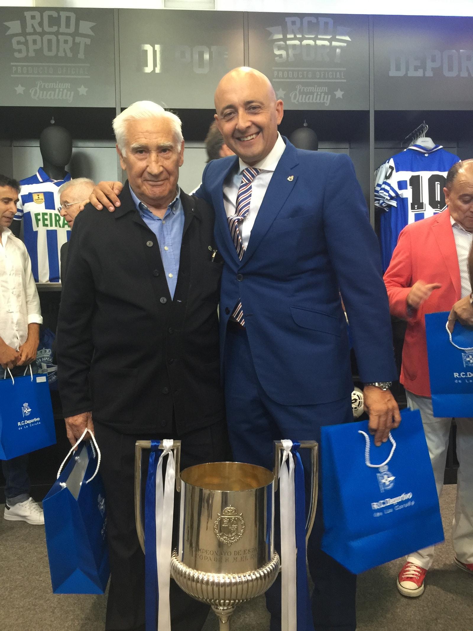 con Arsenio Iglesias